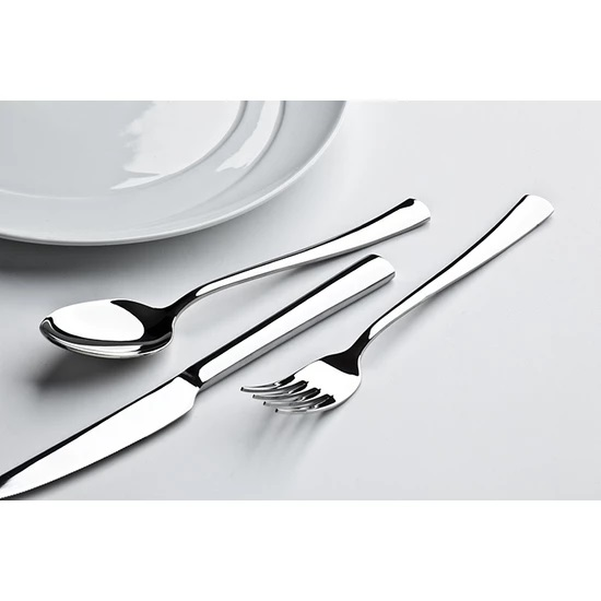 lugga - Nida 24 Parça 6 Kişilik Çatal Kaşık Bıçak