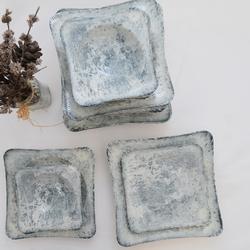 Güral Porselen - 24 Parça Spinoza Kare Yemek Takımı <br> GBSSPN24Y4R511