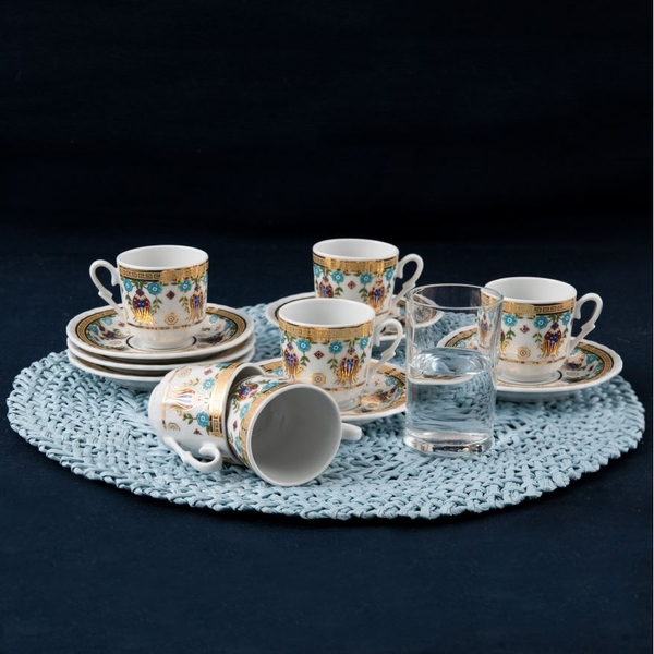 Güral Porselen - 6 lı Fincan Takımı Güral Porselen <SF12CKT084554>