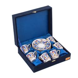 Güral Porselen - 6 lı Özel Seri Kahve Fincan Takımı <br> 8Q0A3495