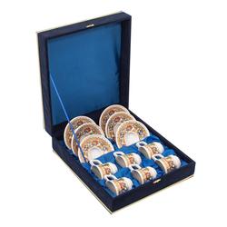 Güral Porselen - 6 lı Özel Seri Kahve Fincan Takımı <br> 8Q0A3503