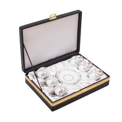 Güral Porselen - 6 lı Özel Seri Kahve Fincan Takımı <br> 8Q0A3507
