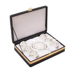 Güral Porselen - 6 lı Özel Seri Kahve Fincan Takımı <br> 8Q0A3508
