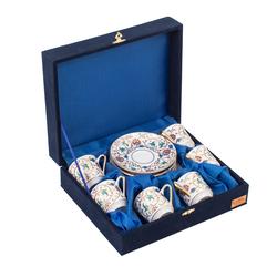 Güral Porselen - 6 lı Özel Seri Kahve Fincan Takımı <br> 8Q0A3510
