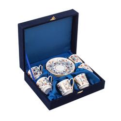 Güral Porselen - 6 lı Özel Seri Kahve Fincan Takımı <br> 8Q0A3515