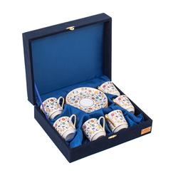 Güral Porselen - 6 lı Özel Seri Kahve Fincan Takımı <br> 8Q0A3520