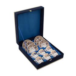 Güral Porselen - 6 lı Özel Seri Kahve Fincan Takımı <br> 8Q0A3521
