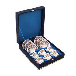 Güral Porselen - 6 lı Özel Seri Kahve Fincan Takımı <br> 8Q0A3522