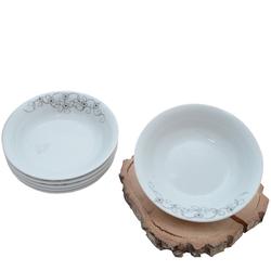 Güral Porselen - 6'lı Yemek Tabagi Kücük Boy <br> ORN6KS02