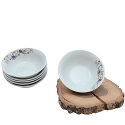 Güral Porselen - 6'lı Porselen Çorba Kase ORN6KS05