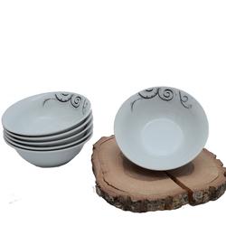 Güral Porselen - 6'lı Porselen Çorba Kase ORN6KS04