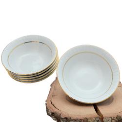 Güral Porselen - 6'lı Porselen Çorba Kase ORN6KS12