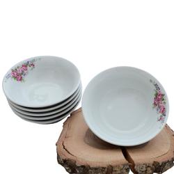 Güral Porselen - 6'lı Porselen Çorba Kase ORN6KS10