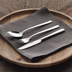 Güral Porselen - Güral Çelik Çatal Bıçak Kaşık Seti <br> 12 Kişilik 85 Parça <br> GRL84CBTJSE