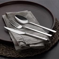 Güral Porselen - Güral Çelik Çatal Bıçak Kaşık Seti <br> 12 Kişilik 85 Parça <br> GRL84CBTPRN