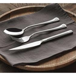 Güral Porselen - Güral Çelik Çatal Bıçak Kaşık Seti <br> 12 Kişilik 85 Parça <br> GRL84CBTVLG