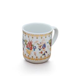 Ören Çini - Bitkisel Porselen Kupa ORNBPK002