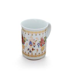 Ören Çini - Bitkisel Porselen Kupa ORNBPK003