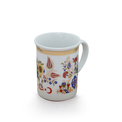 Ören Çini - Bitkisel Porselen Kupa ORNBPK004