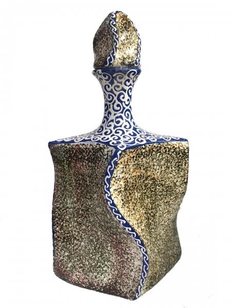 - Dekoratif Otantik Şişe 30 cm Çini