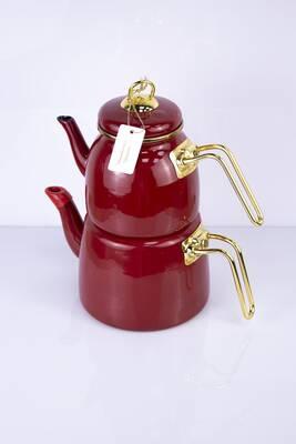 Elite Class Emaye Çaydanlık Kırmızı