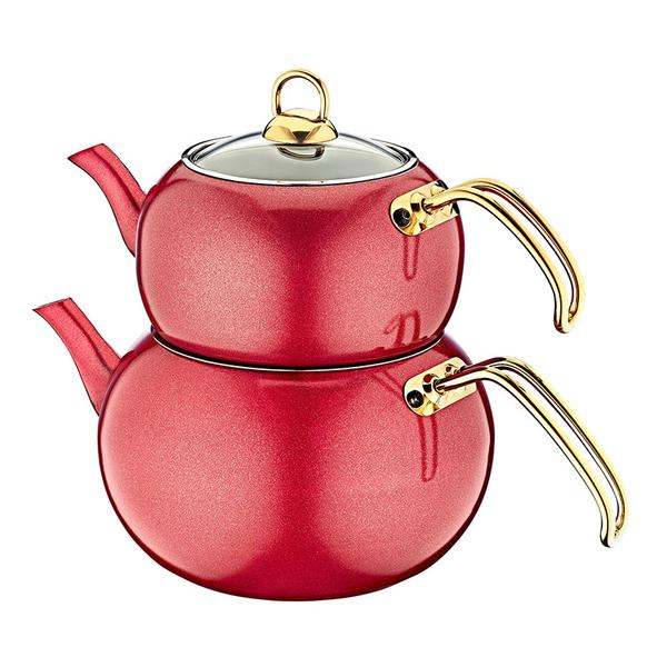 Oms - Granit Çaydanlık Takımı 8215