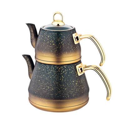 OMS Granit <br> Çaydanlık Takımı <br> Gold Medium 8200
