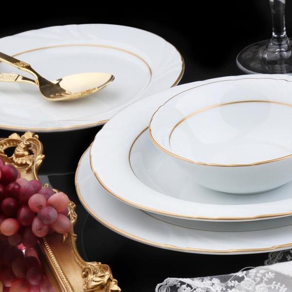 Güral Porselen - Güral Porselen <br> 24 Parça Soprano Yemek Seti <br> SPR24Y623