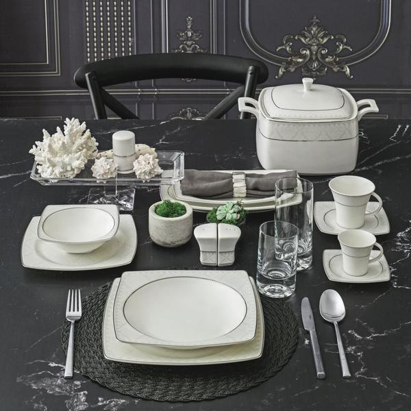 Güral Porselen - Güral Porselen 12 kişilik Yemek Seti <br> GBSCR85KYT8405450