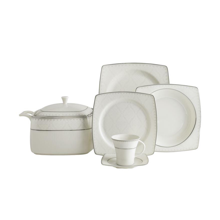 Güral Porselen 12 kişilik Yemek Seti <br> GBSCR85KYT8405450