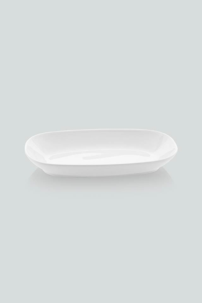 Güral Porselen - Güral Porselen 2 li Salata Kayığı <br> 26 cm <br> EO26DU00