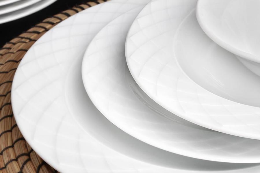 Güral Porselen Alfa Servis Tabağı Altılı
