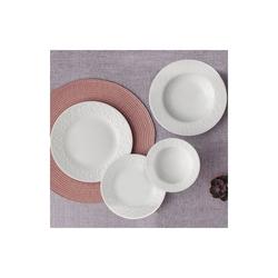 Güral Porselen - Güral Porselen <br> Bronte 24 Parça 6 Kişilik Yemek Seti <br> BRN24Y400