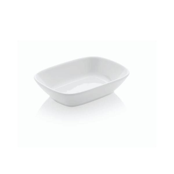 Güral Porselen - Güral Porselen Kahvaltı Tabağı 6 lı <br> Kare Kayık EO12KR00