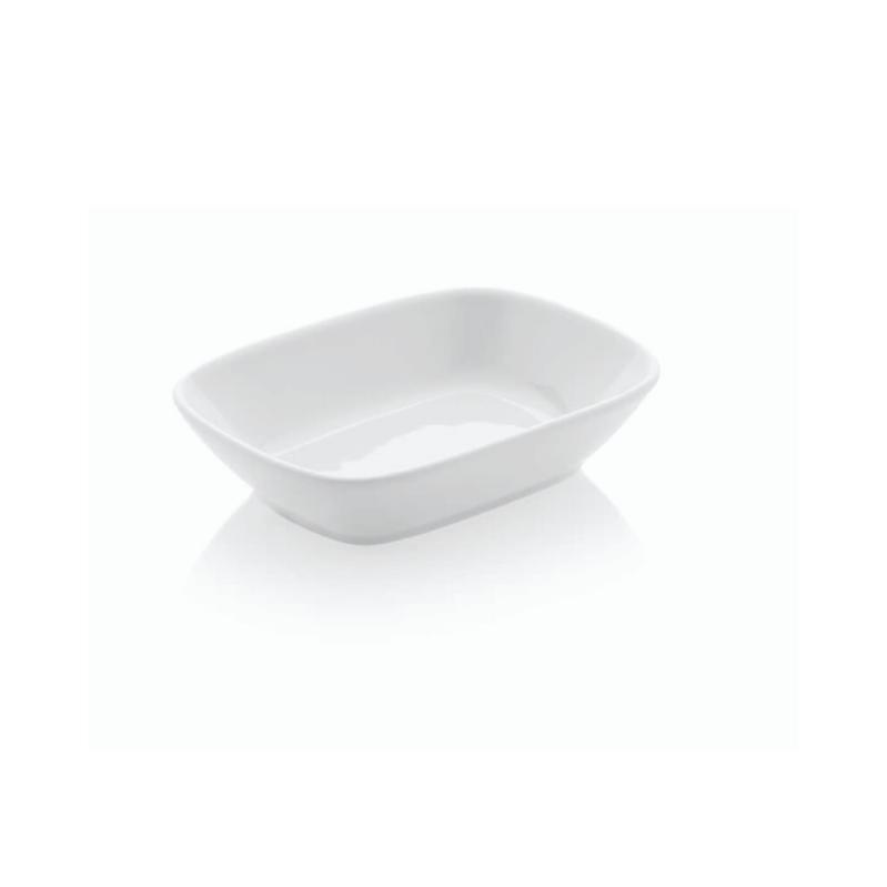 Güral Porselen Kahvaltı Tabağı 6 lı <br> Kare Kayık EO12KR00