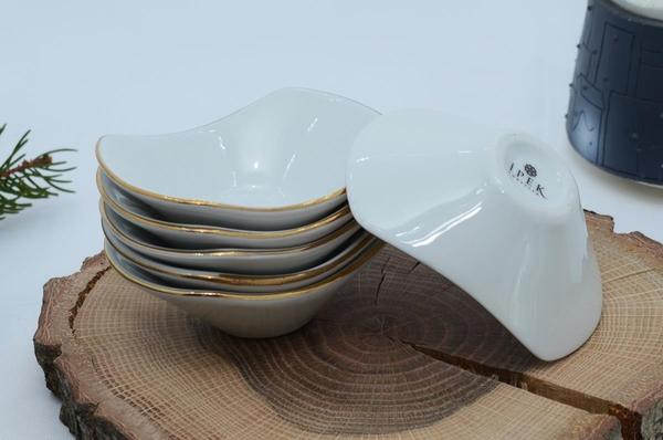 İpek Porselen - Kahvaltılık Çerezlik Porselen Tabak-11