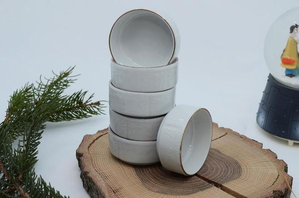 İpek Porselen - Kahvaltılık Ballık Reçellik 6 lı