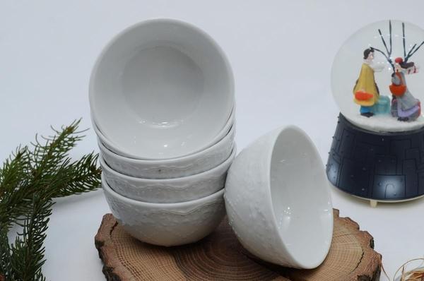 İpek Porselen - Kahvaltılık Çerezlik Porselen Kase 6 lı