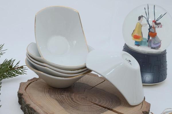 İpek Porselen - Kahvaltılık Çerezlik Porselen 6 li