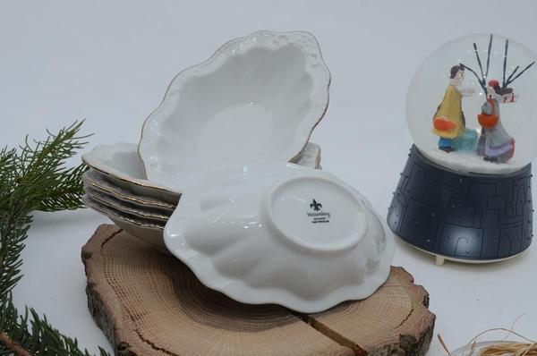 İpek Porselen - Porselen çerezlik oval 6 lı