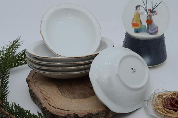 İpek Porselen - Porselen oval kahvaltılık 6 lı