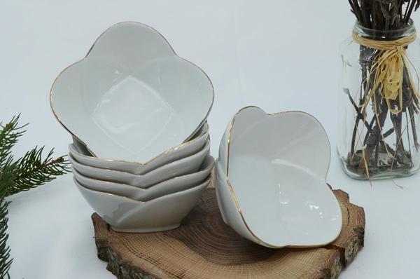 İpek Porselen - Kahvaltılık Çerezlik Porselen Tabak-4