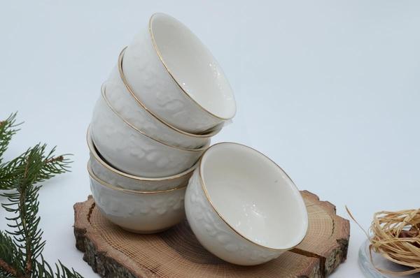 İpek Porselen - Kahvaltılık Çerezlik Porselen Tabak-7
