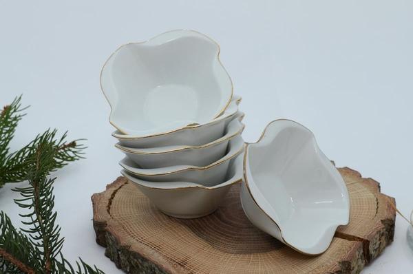 İpek Porselen - Kahvaltılık Çerezlik Porselen Tabak-9