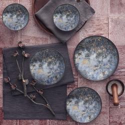 Güral Porselen - Yemek Seti Güral Porselen <br> 24 Parça 6 Kişilik Digibone Atina <br> Yuvarlak Yemek Takımı <br> GBSATN24Y4101607