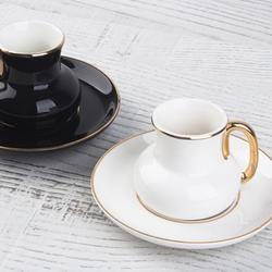 Acar Home - Porselen 6 Lı Kahve Fincan Takımı <br>ZNH-9481