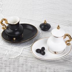 Acar Home - Porselen 6 Lı Kahve Fincan Takımı <br>ZNH-9483