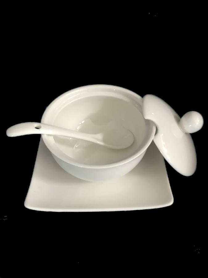 Porselen Baharatlık-Reçellik