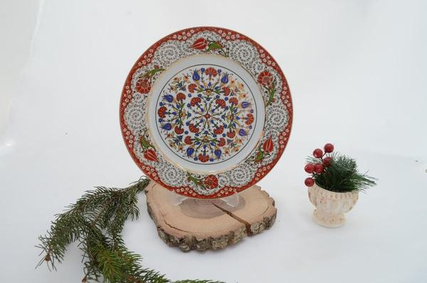 porselenshop - porselen tabak kırmızı