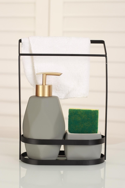 Acar Home - Sıvı Sabunluk Gri